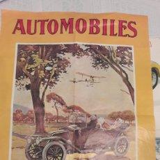 Carteles de Transportes: RENAULT 1907- REPRODUCCIÓN CARTEL. Lote 254081960