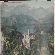 Carteles de Turismo: ANTIGUO CARTEL ORIGINAL DEL MINISTERIO DE TURISMO DE ALEMANIA AÑOS 50. Lote 26656496