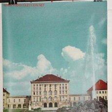 Carteles de Turismo: ANTIGUO CARTEL ORIGINAL DEL MINISTERIO DE TURISMO DE ALEMANIA AÑOS 50. Lote 26722889