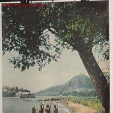 Carteles de Turismo: ANTIGUO CARTEL ORIGINAL DEL MINISTERIO DE TURISMO DE ALEMANIA AÑOS 50. Lote 26518038