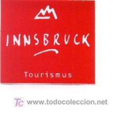 Carteles de Turismo: 24TUR12. ADHESIVO INNSBRUCK TOURISMUS. Lote 6601222