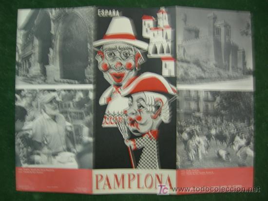 Carteles de Turismo: folletos navarra, pamplona, hotel yoldy (pamplona), editados por ministerio informacion y turismo - Foto 6 - 20684696