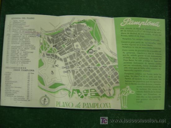 Carteles de Turismo: folletos navarra, pamplona, hotel yoldy (pamplona), editados por ministerio informacion y turismo - Foto 9 - 20684696