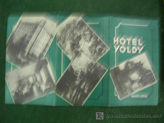 Carteles de Turismo: folletos navarra, pamplona, hotel yoldy (pamplona), editados por ministerio informacion y turismo - Foto 10 - 20684696