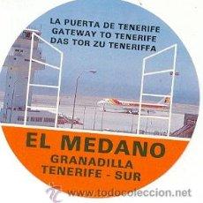 Carteles de Turismo: 24-116. ADHESIVO TURISMO. EL MEDANO. GRANADILLO. TENERIFE SUR. Lote 9067372