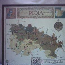 Carteles de Turismo: CARTEL CUADRO LA RIOJA LOGROÑO. Lote 27639960
