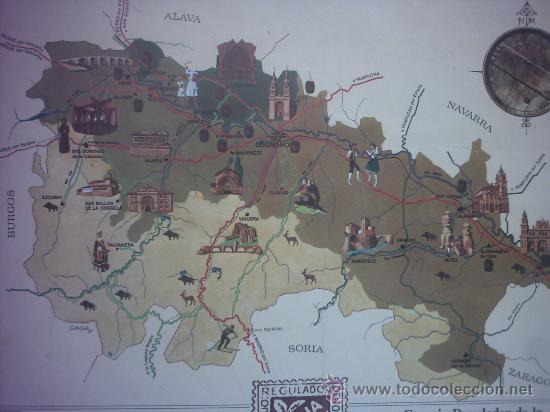 Carteles de Turismo: Cartel cuadro La Rioja Logroño - Foto 2 - 27639960
