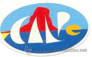 24-152. ADHESIVO TURISMO. CALPE (Coleccionismo - Carteles Gran Formato - Carteles Turismo)