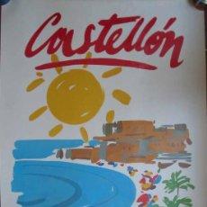 Carteles de Turismo: POSTER - CARTEL : CASTELLÓN. COSTA DEL AZAHAR. 100X70 CM. Lote 11907793