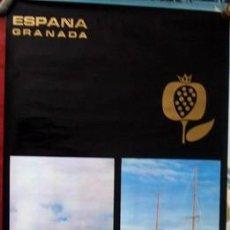 Carteles de Turismo: ESPAÑA-GRANADA (ANDALUCIA)) ESTE CARTEL ES UNA PUBLICACION DEL MINISTERIO DE INFORMACION Y TURISMO .. Lote 17727076