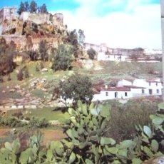 Carteles de Turismo: CARTEL TURISTICO ALBURQUERQUE .BADAJOZ ..ESPAÑA DIRECCION PROMOCION TURISMO C. 1960. Lote 26693139