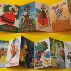 Carteles de Turismo: COLORES DE ESPAÑA. DIRECCION GENERAL DEL TURISMO. Lote 28296486