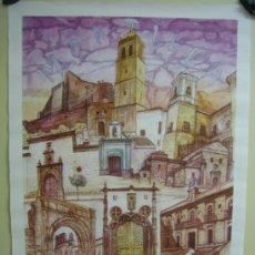 Carteles de Turismo: CARTEL DE LA CIUDAD DE MONTILLA (CORDOBA). MEDIDAS 49X69 CM. Lote 33366032