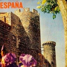 Carteles de Turismo: ESPAÑA HOSTALRICH. GERONA 1973. CATALA ROCA/GARCIA OCHOA. 62 X 97 M. HOSTALRICH. Lote 36160968