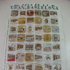 Carteles de Turismo: AUCA DE LA GRAN BARCELONA. Lote 36385170