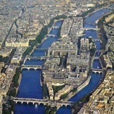 Carteles de Turismo: CARTEL FRANCE. PARIS. LA SEINE. PERCEVAL. C.1965. TURISMO. 70X100. Lote 57590336