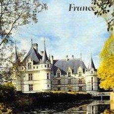 Carteles de Turismo: CARTEL FRANCE. CHATEAUX DE LA LOIRE. AZAY-LE-RIDEAU. FRONVAL. C.1965. 70X100.. Lote 36416234