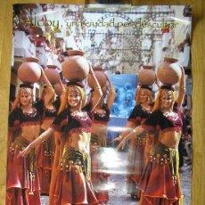 Carteles de Turismo: CARTEL DE ALCOY-MOROS Y CRISTIANOS-FITUR 1999. Lote 36756453