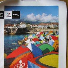 Carteles de Turismo: CARTEL DE LLANES-FITUR AÑO 1999. Lote 36756474