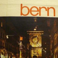 Carteles de Turismo: CARTEL BERN. Lote 36956075