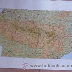 Affiches de Tourisme: CARTEL MAPA DE LOS PIRINEOS - EDITORIAL MARTIN DE BARCELONA. Lote 38720468