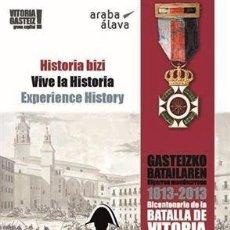 Carteles de Turismo: POSTER DEL BICENTENARIO DE LA BATALLA DE VITORIA 1813-2013.. Lote 38037020