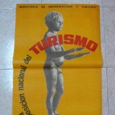 Carteles de Turismo: PRIMERA FERIA EXPOSICIÓN NACIONAL DE TURISMO. TARRAGONA 1963.. Lote 39643323