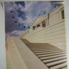 Carteles de Turismo: CARTEL BARCELONA EDIFICI INEFC..1992.70 X 50 CM.. Lote 39969044