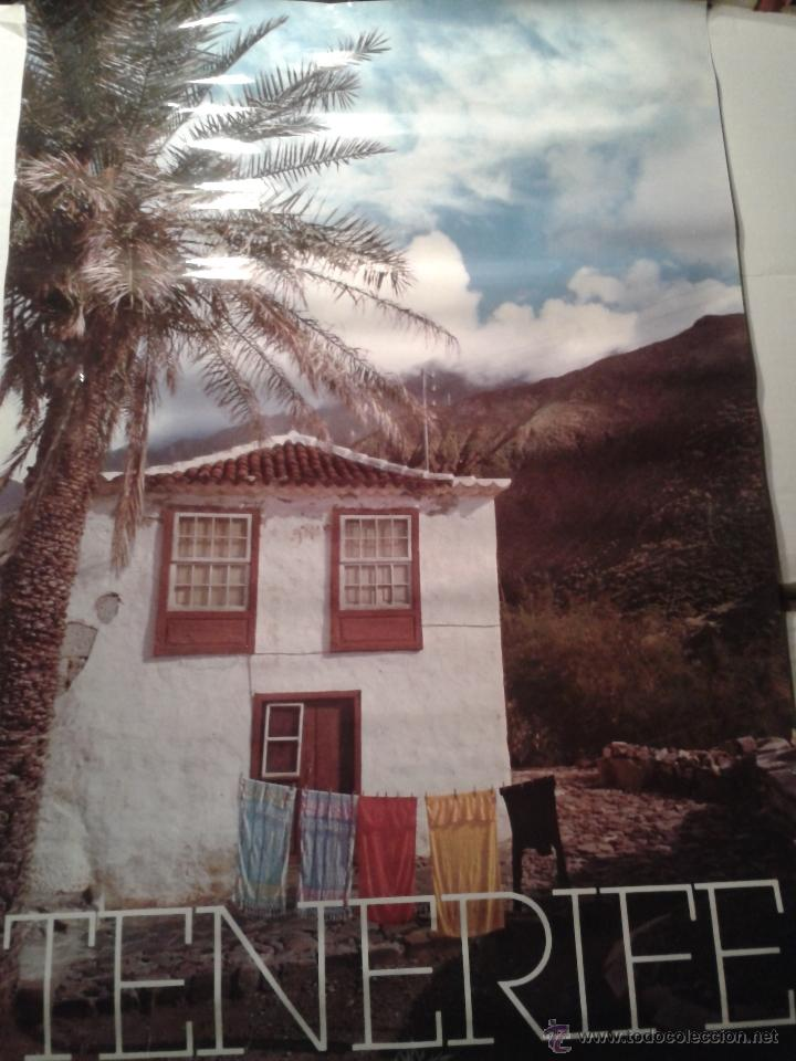 ANTIGUO CARTEL TENERIFE (Coleccionismo - Carteles Gran Formato - Carteles Turismo)