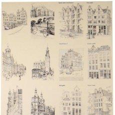 Carteles de Turismo: CARTEL AMSTERDAM. Lote 41610801