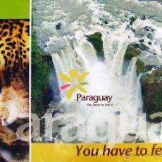 Carteles de Turismo: CARTEL PARAGUAY. Lote 41695390
