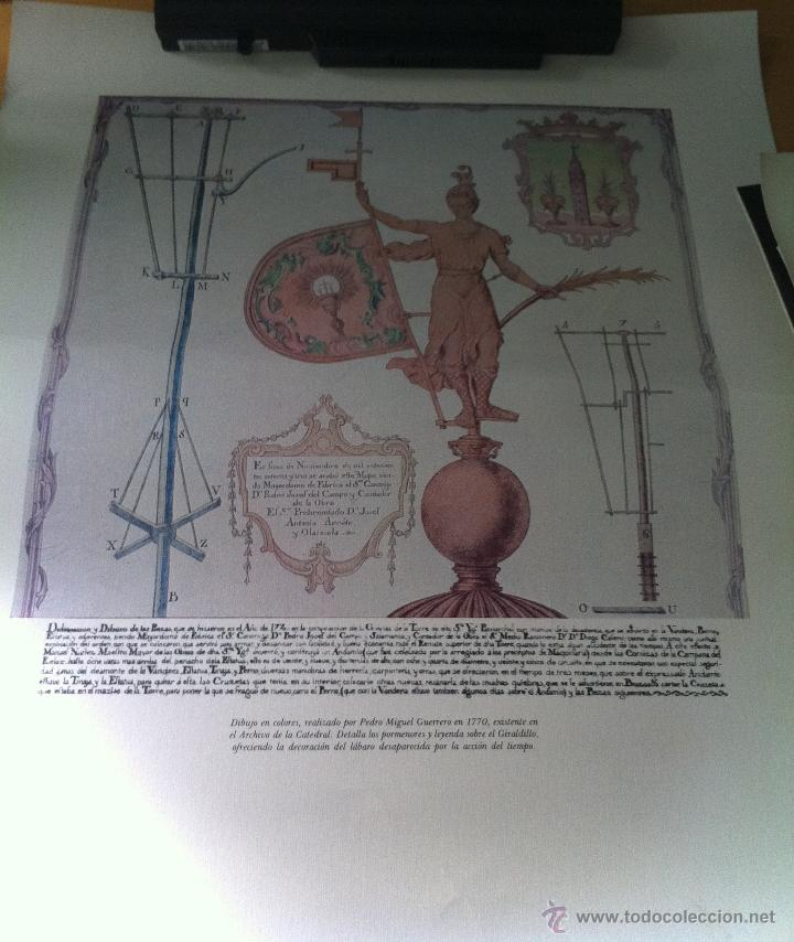 ANTIGUO CARTEL GIRALDA SEVILLA (Coleccionismo - Carteles Gran Formato - Carteles Turismo)