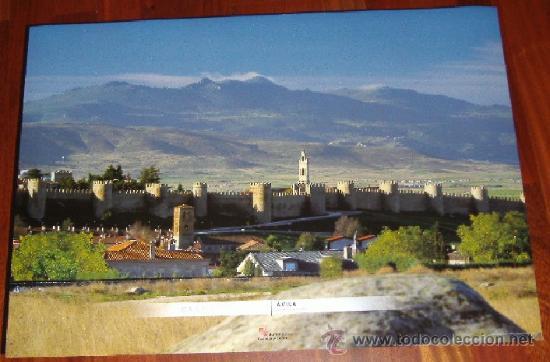 POSTER - AVILA - BELLA PANORAMICA 48,50X68CM (Coleccionismo - Carteles Gran Formato - Carteles Turismo)