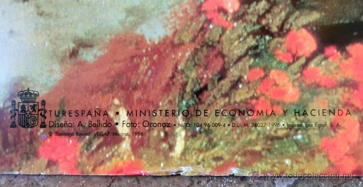 Carteles de Turismo: PRECIOSO CARTEL / POSTER. SANTIAGO RUSIÑOL. ARANJUEZ. MINISTERIO DE E. y H. TURESPAÑA. 1996 - Foto 6 - 45174318