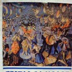 Carteles de Turismo: CARTEL TURISMO , FIESTAS DA CIUDADE , PORTO , PORTUGAL 1978 , ORIGINAL. Lote 46314730