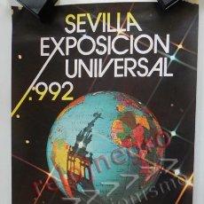 Plakate Tourismus - CARTEL PROMOCIONAL DE LA EXPO'92 SEVILLA - EXPOSICIÓN UNIVERSAL AÑO 1992 DISEÑO GRÁFICO ARTE EXPO 92 - 46543823