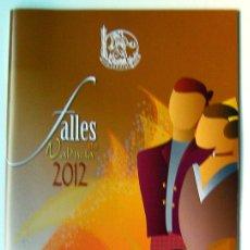 Carteles de Turismo: PROGRAMA OFICIAL FALLAS DE VALENCIA 2012. Lote 47296906