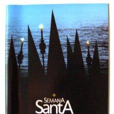 Carteles de Turismo: PROGRAMA OFICIAL SEMANA SANTA 2012 ALICANTE. Lote 47296937