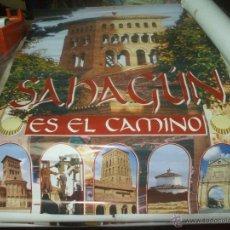 Carteles de Turismo: CARTEL GRAN TAMAÑO ,SAHAGUN EN EL CAMINO .. Lote 48206659