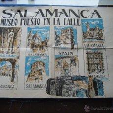 Carteles de Turismo: ANTIGUO CARTEL DE SALAMANCA MUSEO PUESTO EN LA CALLE - 50X35 CM. Lote 50222665