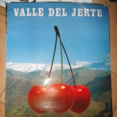 Carteles de Turismo: CARTEL TURISMO EXTREMADURA - VALLE DEL JERTE - CACERES. Lote 50816423