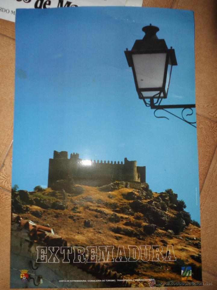 CARTEL TURISMO EXTREMADURA (Coleccionismo - Carteles Gran Formato - Carteles Turismo)