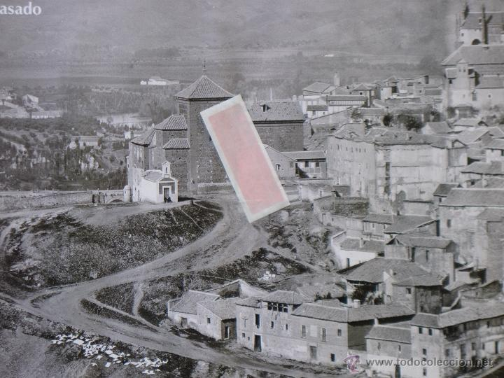 Carteles de Turismo: TOLEDO 1872 - CARTEL GRANDE DE LAS JORNADAS EUROPEAS DE PATRIMONIO.PERFECTO ESTADO. - Foto 2 - 51729611
