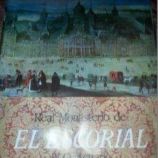 Carteles de Turismo: CARTEL AGOTADO DIRECCION GENERAL DE TURISMO 1963 IV CENTENARIO MONASTERIO DEL ESCORIAL 125X75 CM. Lote 52635683