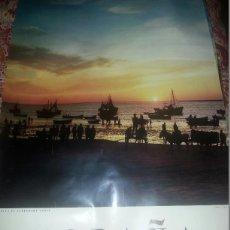 Carteles de Turismo: EXCEPCIONAL CARTEL AGOTADO DIRECCION GENERAL DE TURISMO AÑOS 60. SANLUCAR DE BARRAMEDA 125X75 CM. Lote 52635867