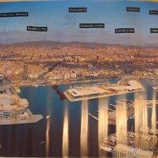 Carteles de Turismo: M69 CARTEL TURISTICO PUERTO DE BARCELONA PORT VELL AÑOS 90. Lote 52953764