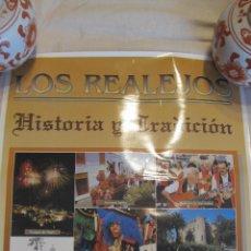 Carteles de Turismo: M69 CARTEL TURISTICO LOS REALEJOS HISTORIA Y TRADICION TENERIFE AÑOS 90. Lote 52954141