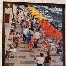 Carteles de Turismo: PLAYA DE ARO. GERONA.AÑOS 60..ENVIO CERTIFICADO.INCLUIDO EN EL PRECIO.. Lote 53041885