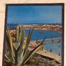Carteles de Turismo: ISLAS CANARIAS. PUERTO DE LA CRUZ. TENERIFE. AÑOS 60..ENVIO CERTIFICADO.INCLUIDO EN EL PRECIO.. Lote 53041991