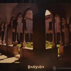 Carteles de Turismo: CARTEL BANYOLES. 60 X 80 CM. . Lote 53201059